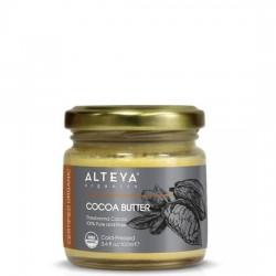 Alteya Organics - Οργανικό Βούτυρο Κακάο / Organic Cocoa Butter 100ml Το Πιστοποιημένο απο USDA Βιολογικό Cocoa Butter Alteya Organics είναι ιδανικό για βαθιά ενυδάτωση