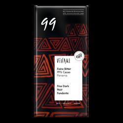 Σοκολάτα Μαύρη 99% Κακάο Bio 80gr