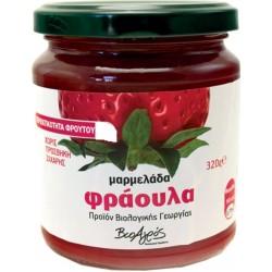 Μαρμελάδα Φράουλα Bio 320gr 60% Φρούτο