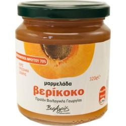 Μαρμελάδα Βερίκοκο Bio 320gr 60% Φρούτο