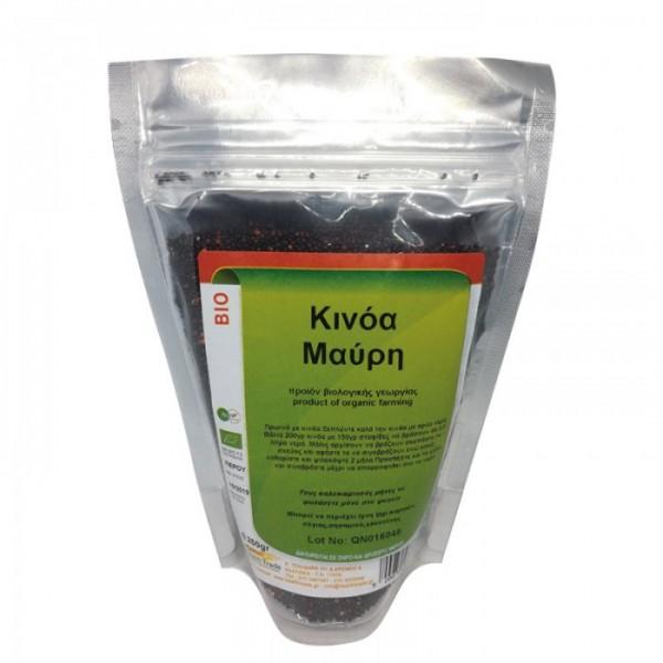 Κινόα Μαύρη Βιολογική 250gr