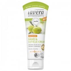 Lavera - 2σε1 Κρέμα Χεριών & Απομάκρυνσης Παρανυχίδων 75ml