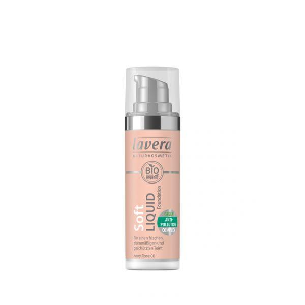 Lavera - Απαλό υγρό Make-up Ivory rose 30ml