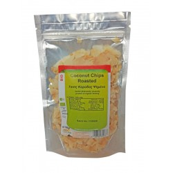 Coconut Chips Roasted Organic 100gr