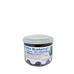 Wild Blueberries Osmotic Χωρίς Ζάχαρη Pet 150gr