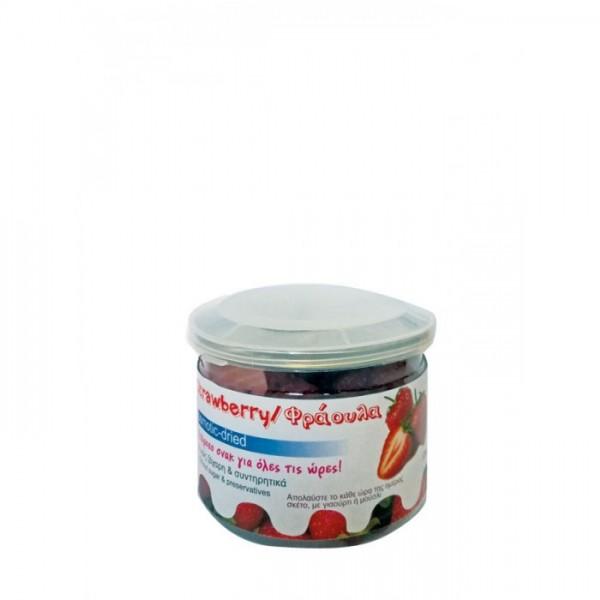 Φράουλα Οσμωτική Χωρίς Ζάχαρη Pet 125gr