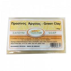 Σαπούνι απολέπισης με πράσινη άργιλο 100gr