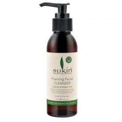 Sukin - Απαλό Αφρίζον Καθαριστικό Προσώπου / Foaming Cleanser 125ml             Με Χαμομήλι, Αλόη, Αμαμελίδα και Πράσινο Τσάι