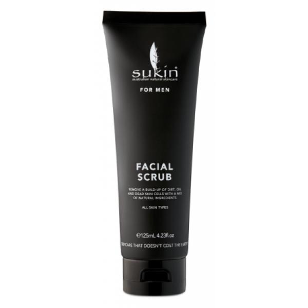 Sukin - Scrub Προσώπου Για Άντρες / MEN'S FACIAL SCRUB 125ml Για όλους τους τύπους δέρματος