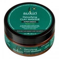 Sukin - Αποτοξινωτική Μάσκα Προσώπου / Super Greens Detoxifying 100ml Ένα Εκπληκτικό Αποτοξινωτικό Μίγμα για Τέλεια Καθαρό Πρόσωπο