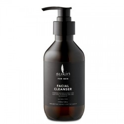 Sukin - Καθαριστικό Προσώπου για Αντρες / Facial Cleanser For Men 225ml Για όλους τους τύπους δέρματος