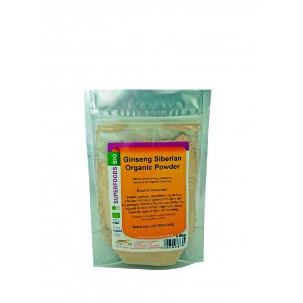 Ginseng Powder βιολογική 60gr