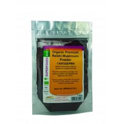 Reishi Mushroom Powder (Γανόδερμα) βιολογικό 60gr