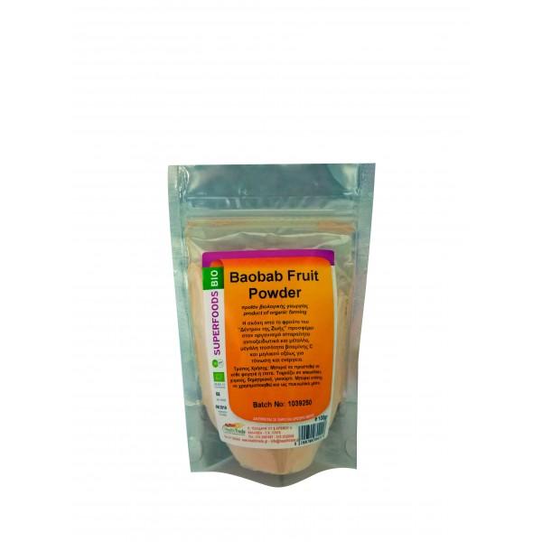 Baobab Powder βιολογική 100gr