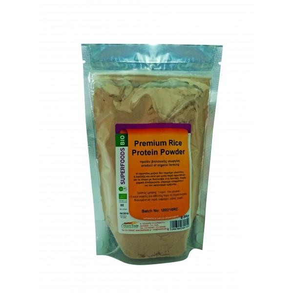 Rice Protein (πρωτεΐνη ρυζιού) βιολογική 250gr